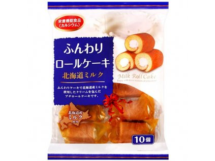 Hokkaido Mini Roll Cake Milk Balení 170g JAP 1