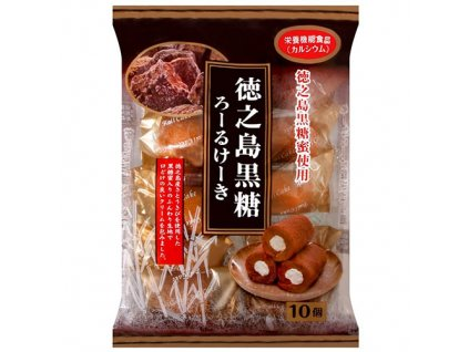 Hokkaido Mini Roll Cake Chocolate Balení 170g JAP