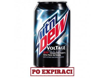 Po Expiraci Mountain Dew Voltage 355ml USA