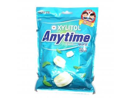 Mléčný mentolový bonbón anytime 92g KOR