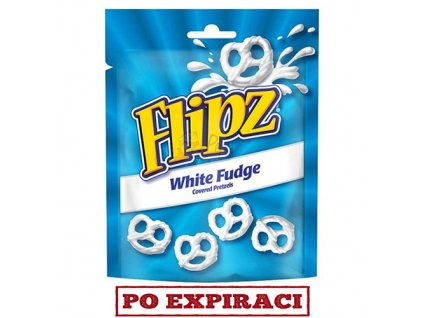 Flipz preclíky s polevou bílé čokolády 90g - PEPIS.SHOP