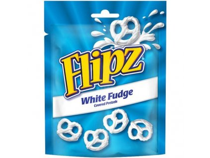Flipz White Fudge Pretzels 90g UK
