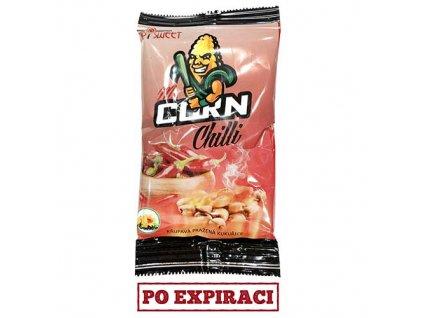 Po Expiraci Mr. Corn Křupavá Pražená Kukuřice Chilli 30g ESP