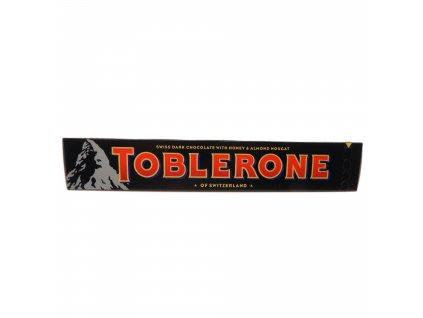 Toblerone Švýcarská tmavá čokoláda s medem a mandlovým nugátem - PEPIS.SHOP