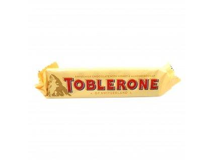Toblerone Švýcarská mléčná čokoláda medem a mandlovým nugátem 35g - PEPIS.SHOP