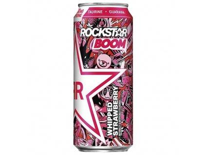 Rockstar Boom Energy Drink Whipped Strawberry 473ml USA