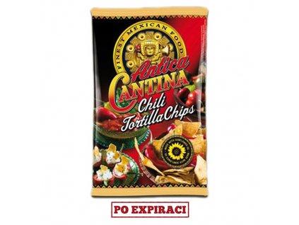 Po Expiraci Antica Cantina Chili Tortilla Chips 200g DK