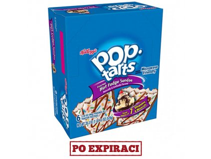 Po Expiraci Pop Tarts Frosted Hot Fudge Sundae Maxi Balení 576g USA