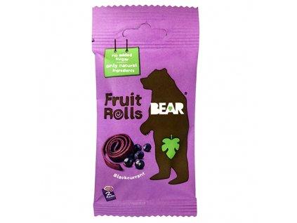 Yoyo Bear Ovocné Rolky Černý Rybíz 1ks 20g UK