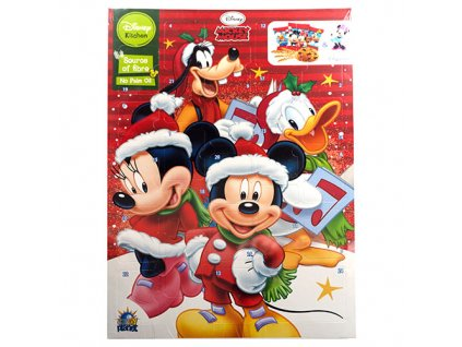 Disney Mickey Mouse Sušenkový Adventní Kalendář 132g POL