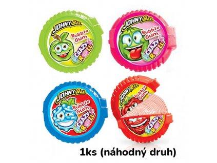 Johny Bee Crazy Roll Bubble Gum Náhodný Druh 1ks 18g POL