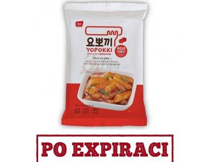 Po Expiraci Yopokki Sweet & Spicy Tteokbokki Topokki 280g KOR