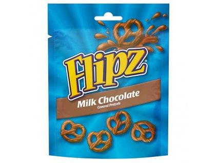 Flipz preclíky s mléčnou čokoládou 100g UK