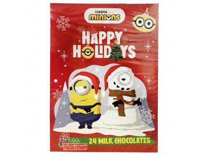 Adventní Kalendář Minions Happy Holidays 75g EU