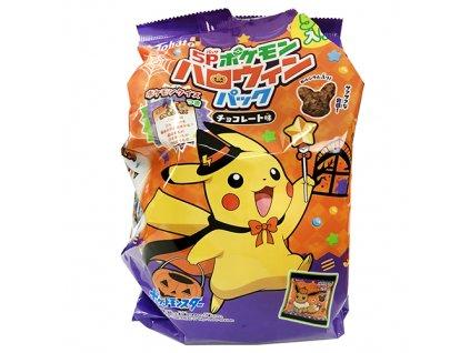 Tohato Pokemon Halloween Snack Balení (5x15g) 75g JAP