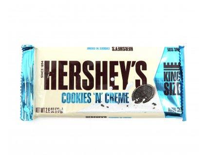 Hershey's s bílou polevou a sušenkami OREO KING SIZE 73g - PEPIS.SHOP