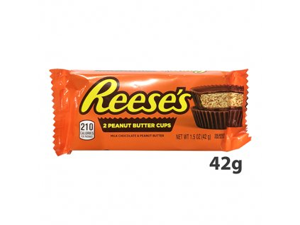 Reese's 2 Peanut Butter Cups 42g USA