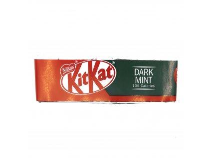 KIT KAT tmavá čokoláda s mátou, 1ks - PEPIS.SHOP