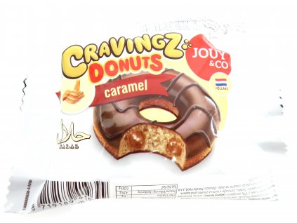 Karamelový donut 50g - PEPIS.SHOP