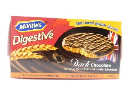 McVitie's digestive oplatky s tmavou čokoládou 200g