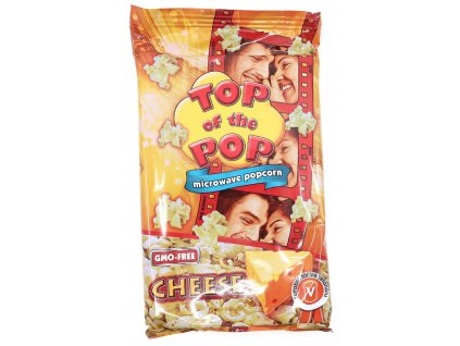 Top of the pop popcorn sýr 100g BG