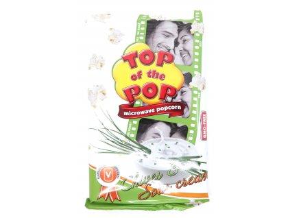 Top of the Pop popcorn pažitka a smetana 100g
