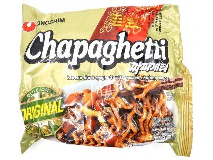 Chapaghetti Korejské Špageti s Černou Fazolí 140g KOR