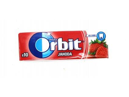 Orbit Dráže Strawberry  14g BG