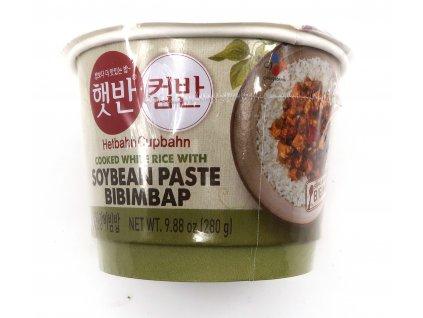 CJ Bibimbap Vařená rýže + sojové fazole 280g