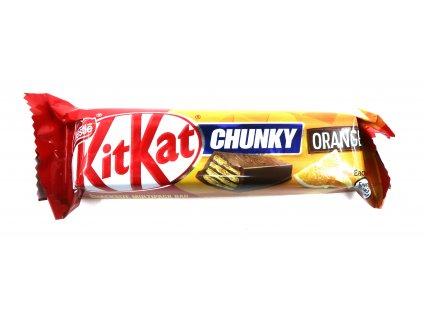 KitKat chunky orange UK