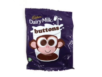Cadbury dairy milk buttons 14g UK