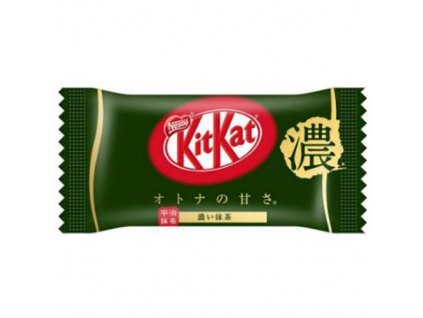 Nestle KITKAT Mini Strong Matcha Green Tea Bar