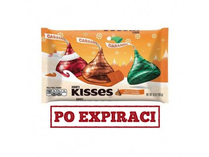 Hershey's Kisses Milk Choco and Caramel - (Balení - 283g) - USA