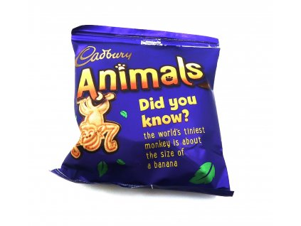 Cadbury Animals 1ks - 19.9g - UK