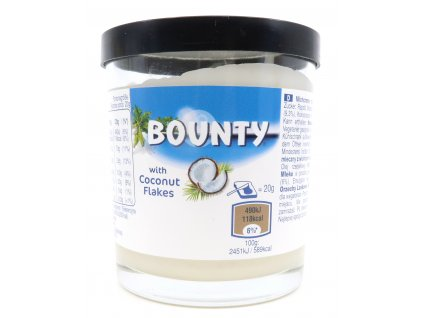 Bounty with coconut flakes butter