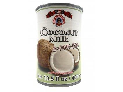 Suree Kokosové mléko na vaření 8-10% 400ml THA
