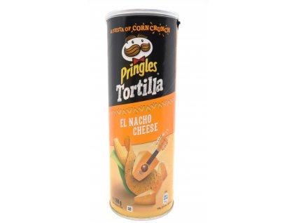 Pringles Tortilla El Nacho Cheese 160g EU