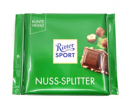Ritter Sport čokoláda s kousky oříšků 100g