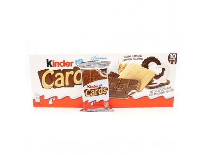 Kinder Cards balení, 128g - PEPIS.SHOP