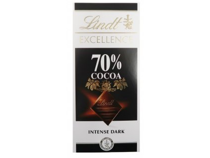 Lindt excellence 70% 100g CH