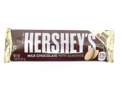Hershey's Milk Chocolate with Almond 41g USA