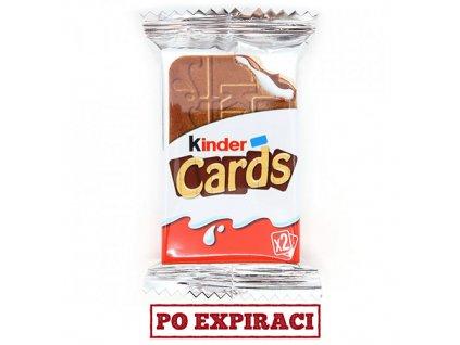 Kinder Cards 1ks (2 Kousky) 25,6g CZE