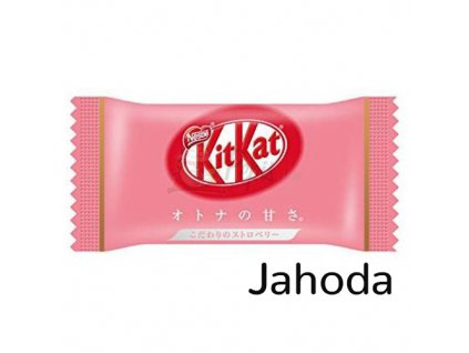Kitkat Mini Jahoda 9,7g JAP