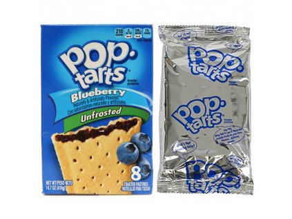 Pop Tarts Unfrosted Blueberry 1ks (2x52g) USA