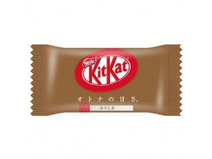 Nestle KITKAT Mini OTONA NO AMASA Hojicha 12 pack 135.6 grams One Bar wrapped