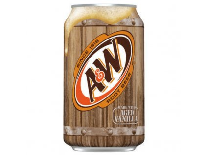A&W Root Beer Aged Vanilla 355ml USA