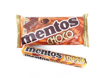 Mentos karamel a čokoláda balení, 84g - PEPIS.SHOP