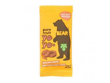 Yoyo Bear Ovocné Rolky Mango 1ks 20g UK