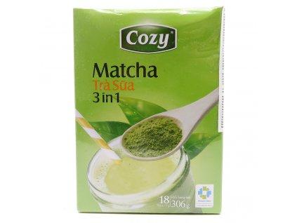 Cozy Matcha 3in1 Balení (18x17g) 306g VNM