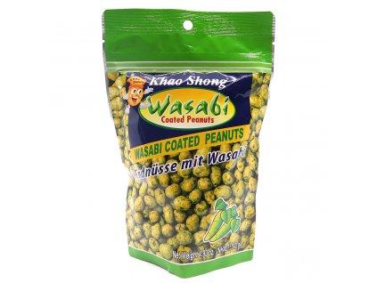Khao Shong Coated Peanut Wasabi 140g THA